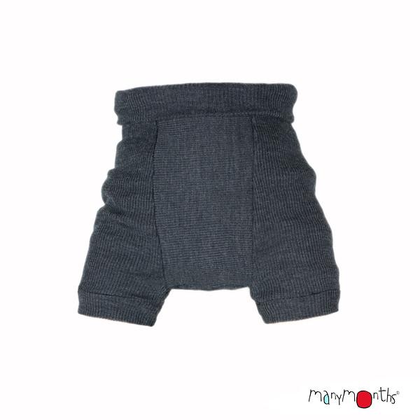Chaussons de portage MANYMONTHS 2020-21 - Shorties en pure laine merinos
