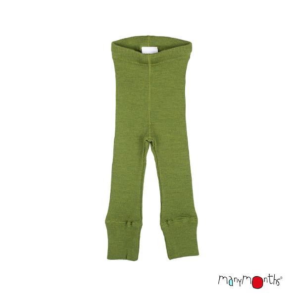 Robes et jupes MANYMONTHS 2020-21 - Leggings unisex pour enfants en pure laine mérinos