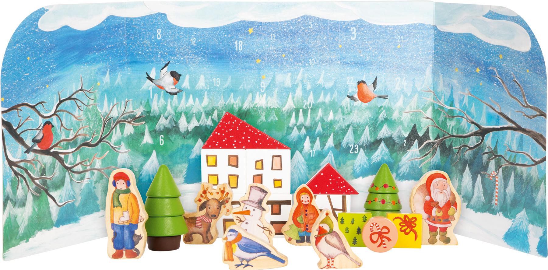 Racine Legler Noel 2020 - Calendrier de l'avant Forêt d'hiver