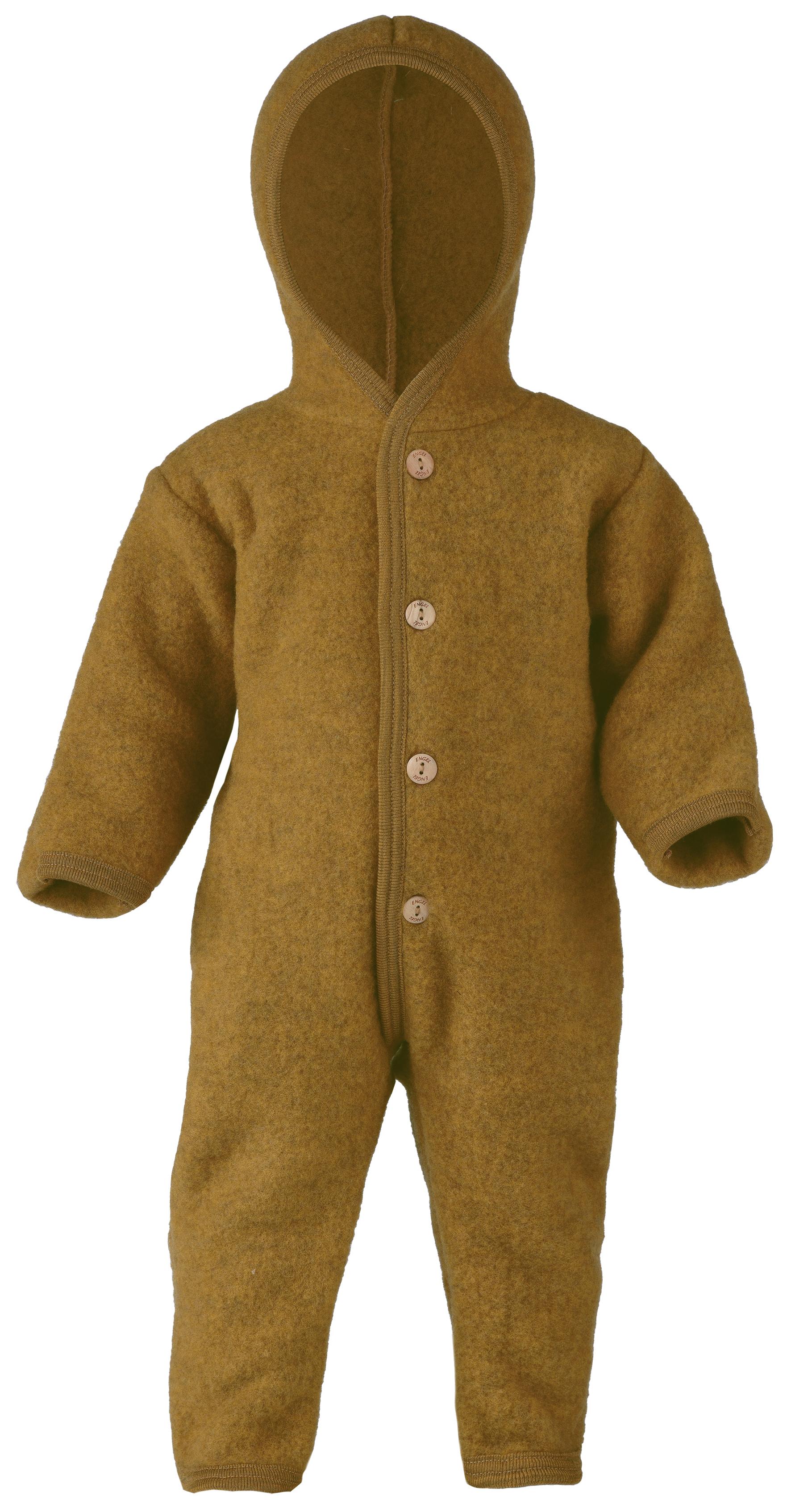 Gigoteuses et combinaisons, manteaux ENGEL Nouveauté - Combinaison bébé en 100% laine mérinos, polaire (50 au 92)