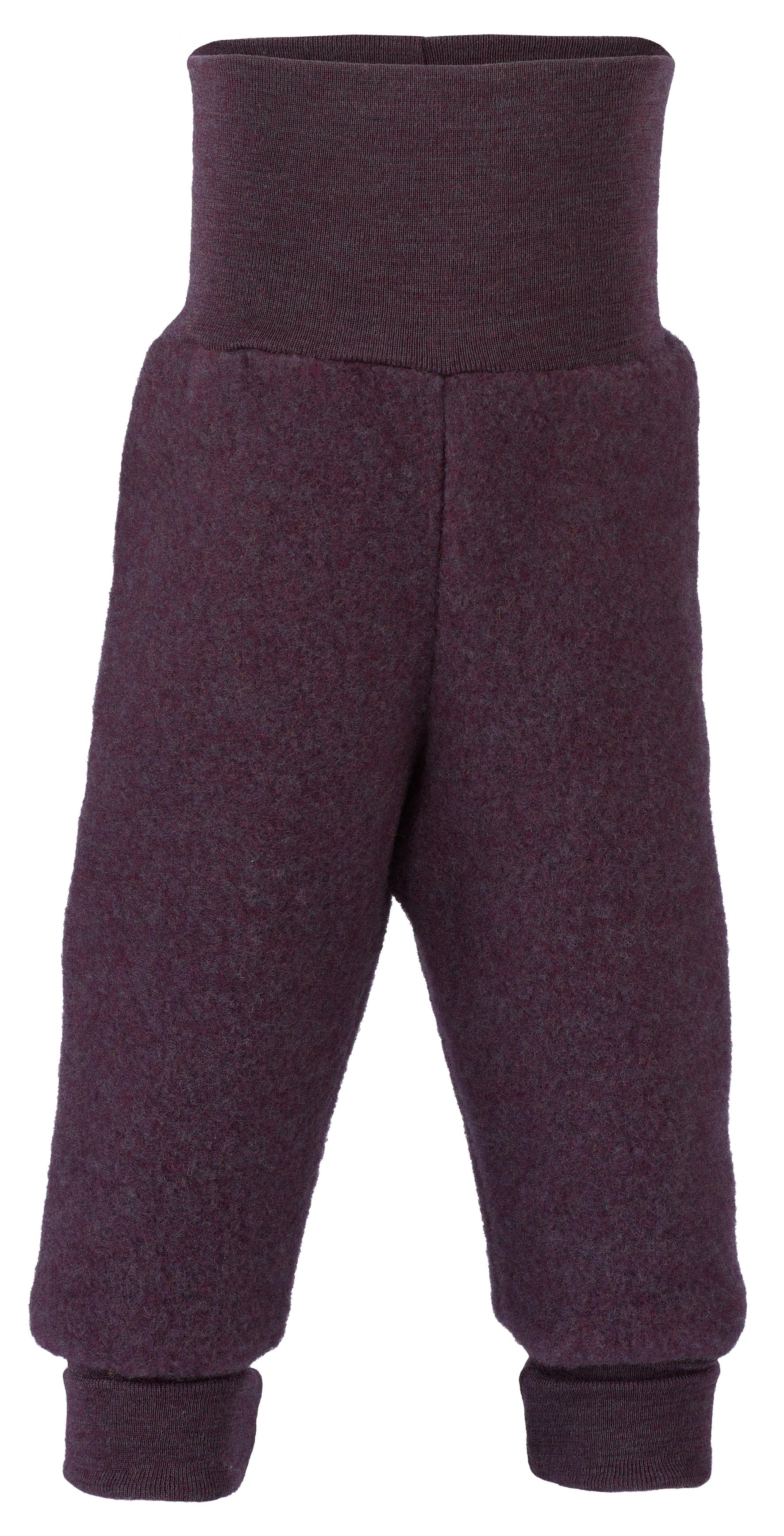 Pantalons et pantacourts ENGEL Nouveauté - Pantalon épais à large ceinture bébé en 100% laine mérinos, polaire (62 au 92)