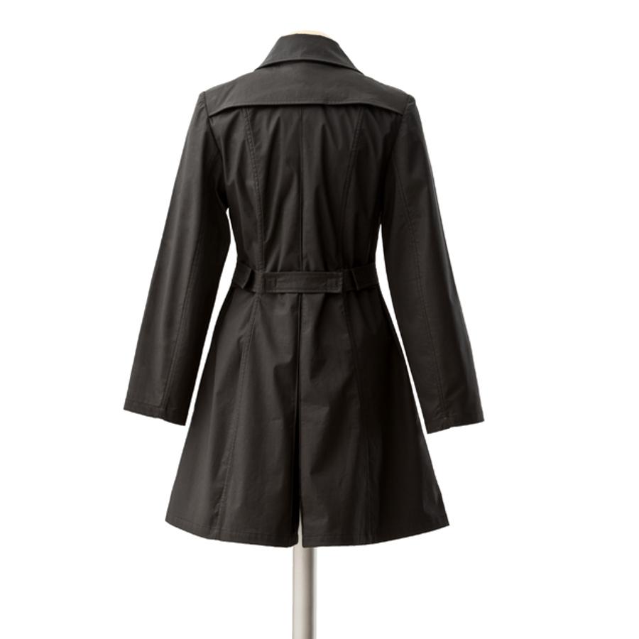 Vestes et manteaux MAMALILA casual MAMALILA – TRENCHCOAT de grossesse et portage 3 en 1 NOIR-FUCHSIA