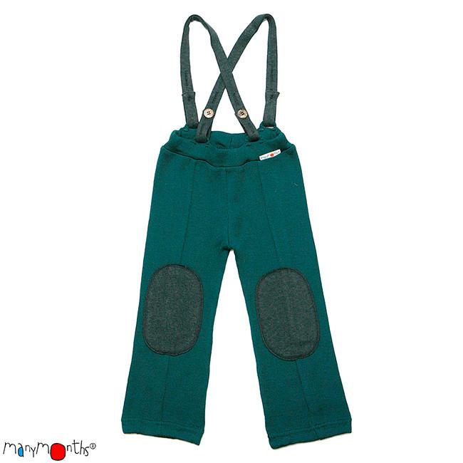 Laine Bio Ancienne Collection MANYMONTHS – HAZEL PANTS – pantalon en pure laine mérinos
