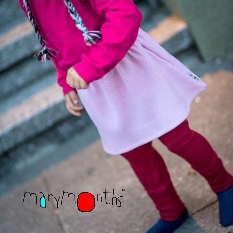 Robes et jupes MANYMONTHS – JUPE PRINCESSE en pure laine mérinos