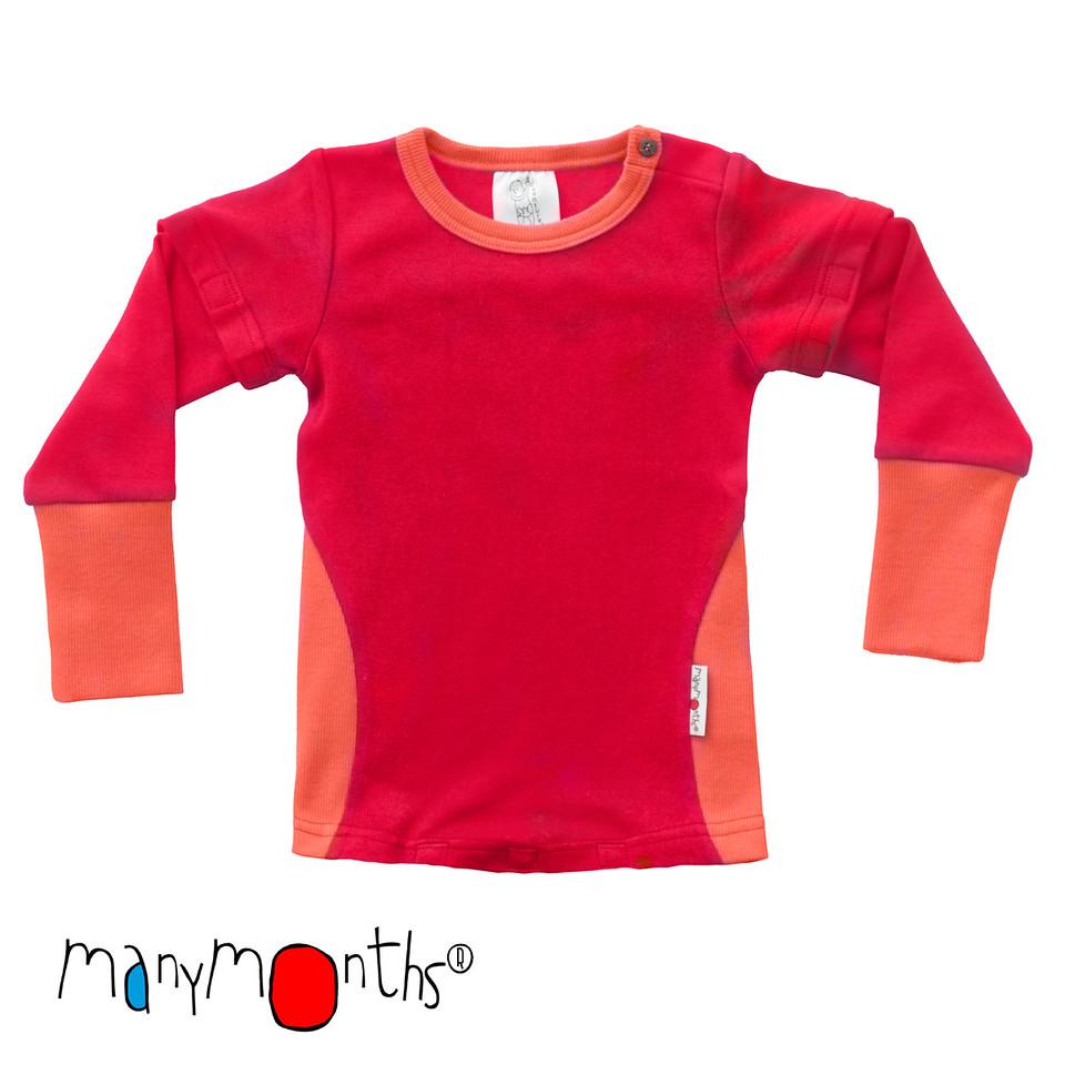 Racine MANYMONTHS – BODY/SHIRT 2en1 à manches amovibles