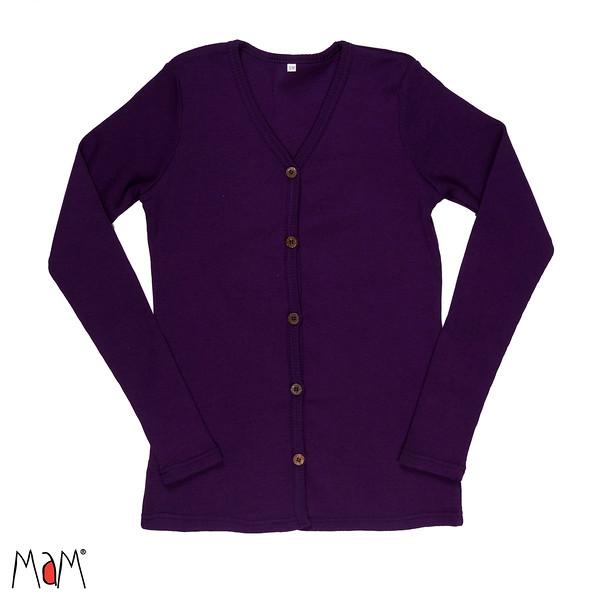 Idées Cadeaux MaM Natural Woollies 2018/19 - GILET ADULTE en pure laine merinos