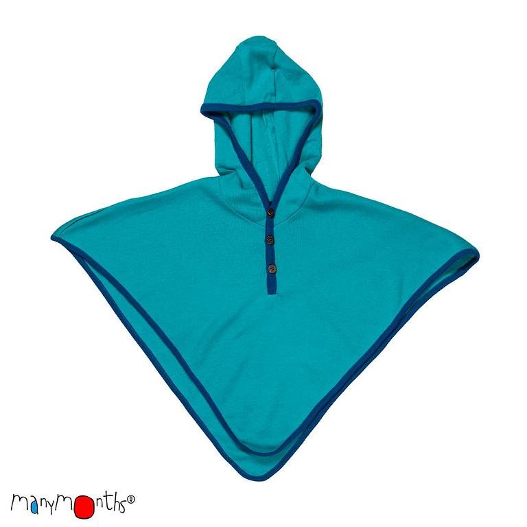 Laine Bio 2018-2019 MANYMONTHS 2018/19 – MULTI-CAPE avec capuche en pure laine mérinos