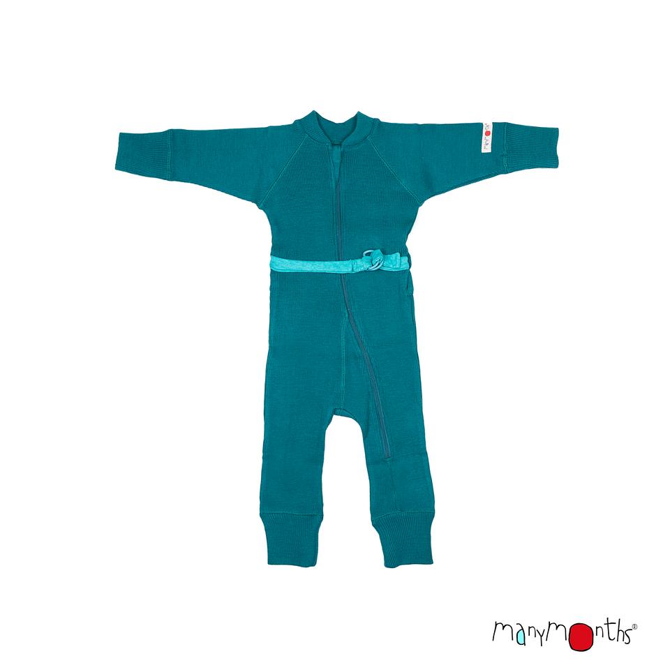 Gigoteuses et combinaisons, manteaux MANYMONTHS 2019/20 - Combinaison en pure laine mérinos