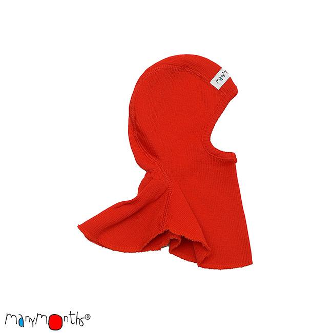 Chapeaux été MANYMONTHS - CAGOULE (bonnet éléphant) en pure laine mérinos
