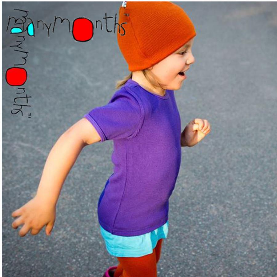 Laine 100% mérinos 2018-2019 MANYMONTHS - LEGGINGS UNISEX pour enfants en pure laine mérinos