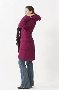Vestes et manteaux MaM MAMALILA - Manteau de grossesse et portage  à capuche en laine