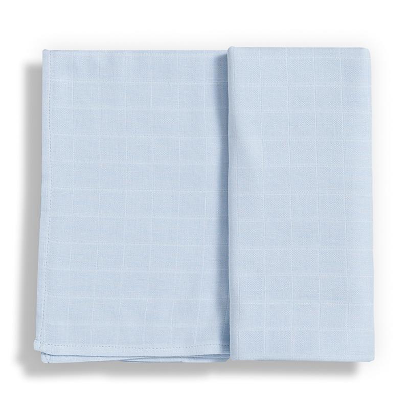 GLOOP ! Langes en 100% mousseline de coton bio GLOOP ! Set de 2 langes 50x50 en 100% mousseline de coton bio