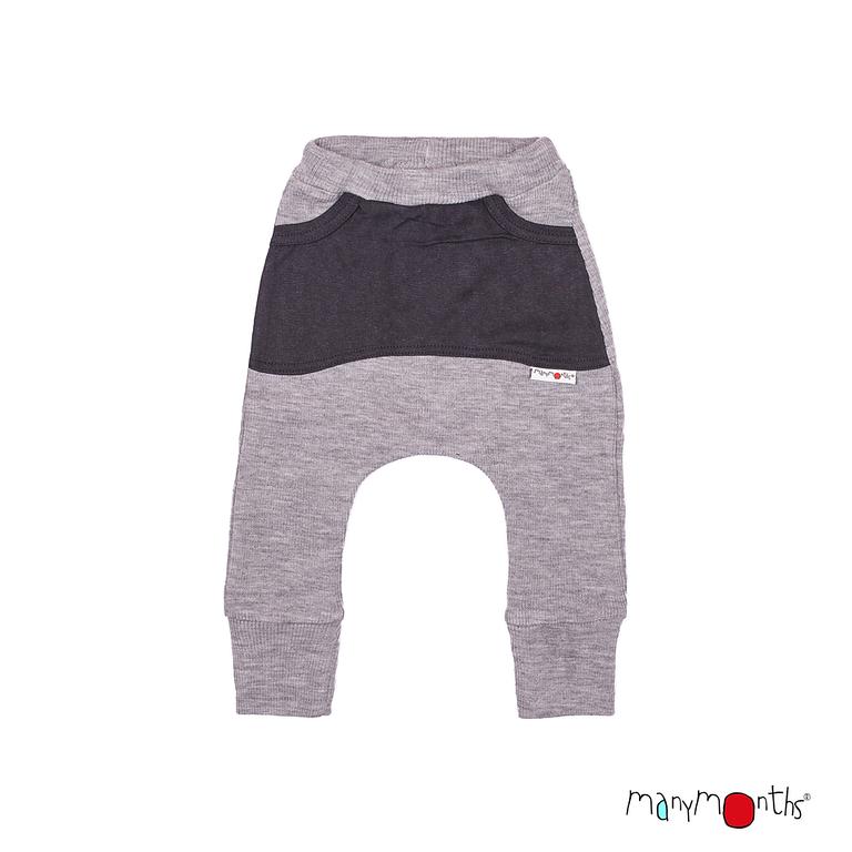 Pantalons et pantacourts MANYMONTHS 2019/20 – Kangaroo Trousers - Sarouel en pure laine mérinos