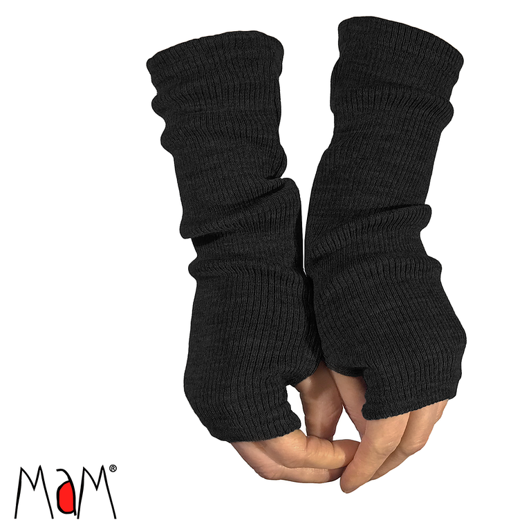 Laine 100% Mérinos 2019-2020 MaM 2019/20 Natural Woollies – Mitaines  Longues pour Adultes en pure laine merinos