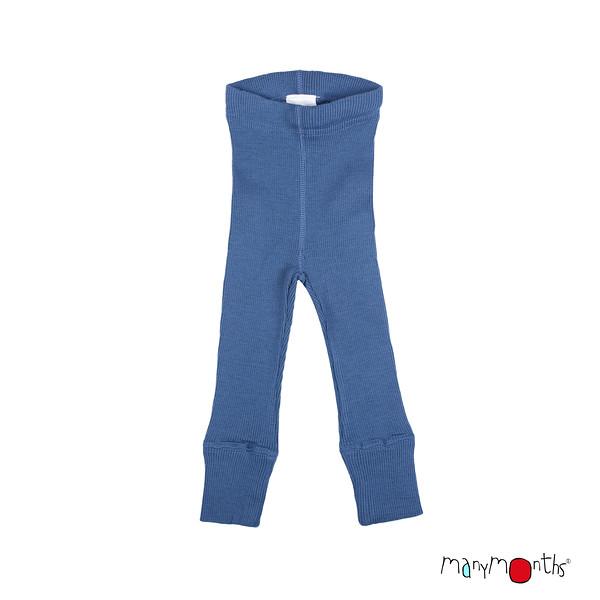 Laine 100% Mérinos 2020-21 MANYMONTHS 2020-21 - Leggings unisex pour enfants en pure laine mérinos