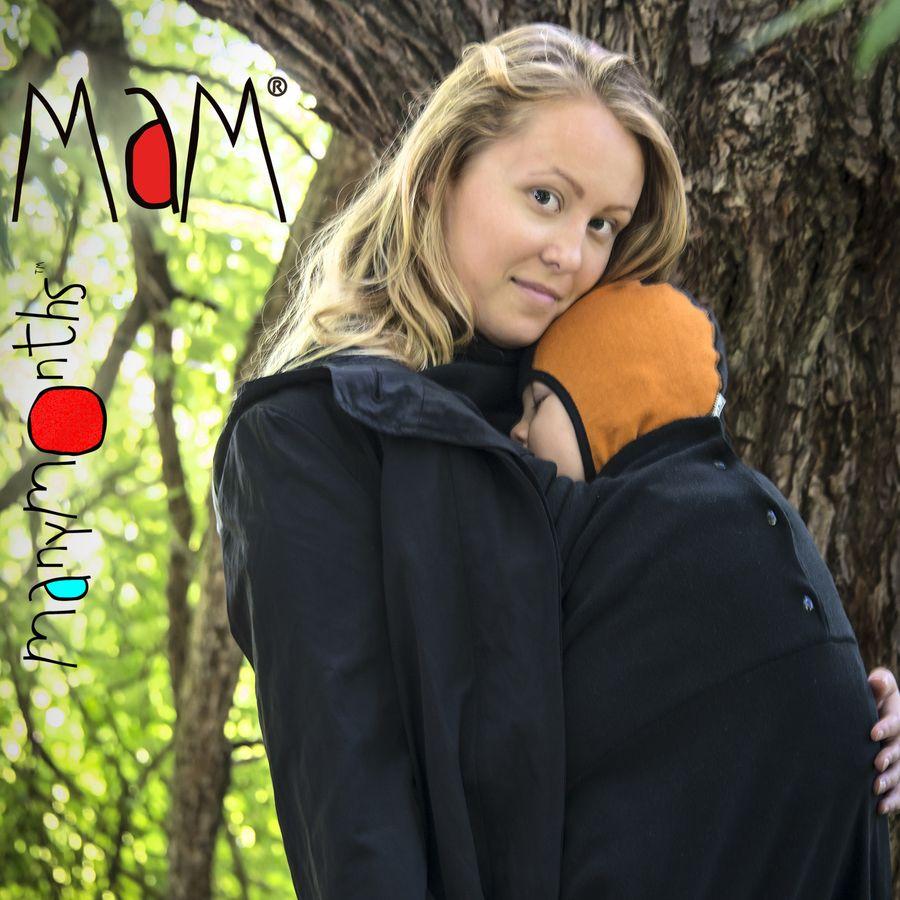 Col de portage MaM COLD WEATHER INSERT (Snuggle) – Insert chaud avec double col détachable intégré