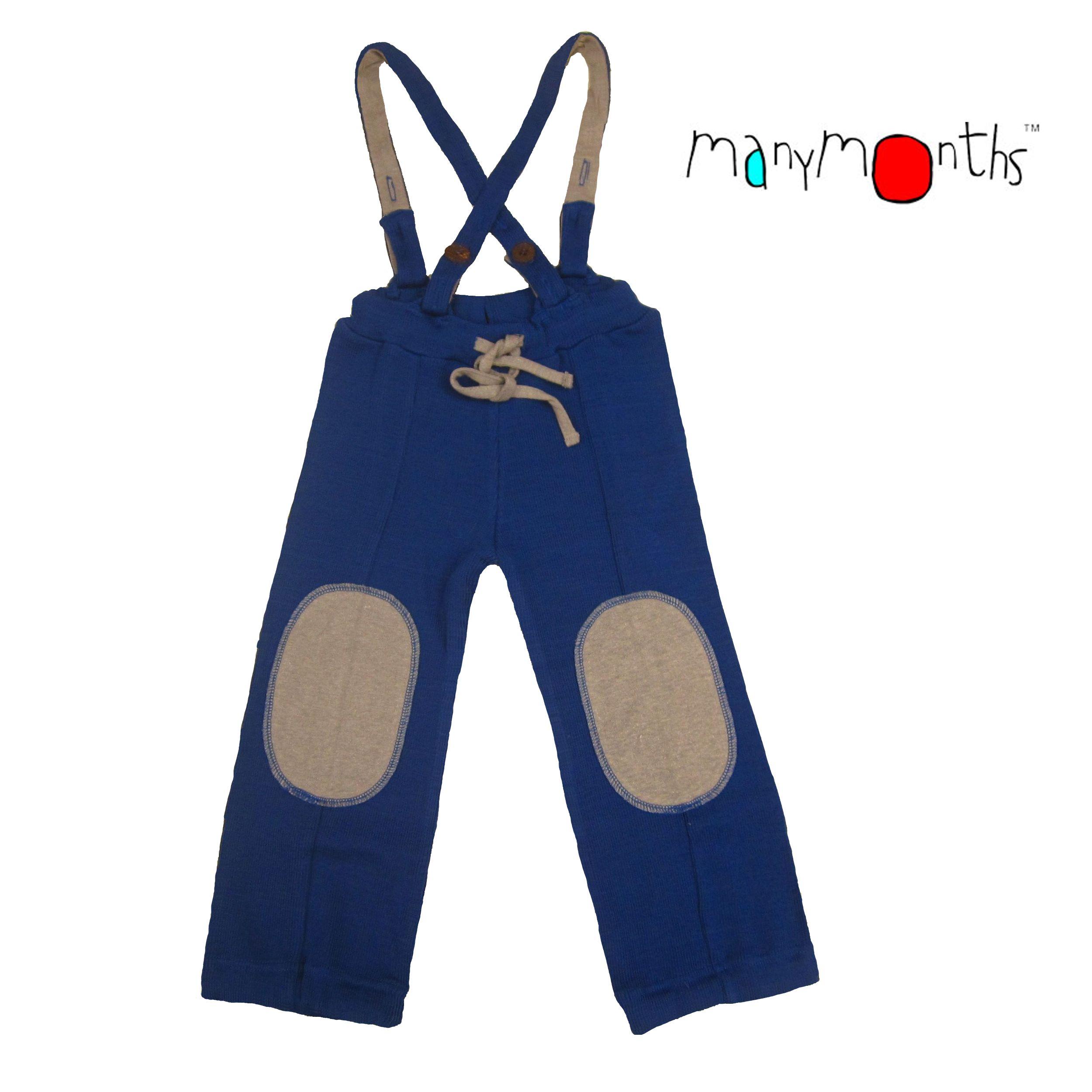 Pantalons et pantacourts MANYMONTHS – HAZEL PANTS – pantalon en pure laine mérinos