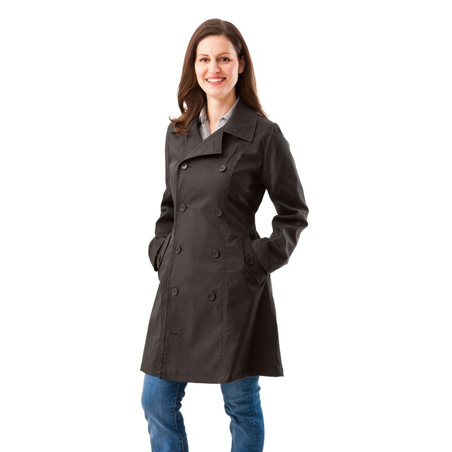 Vestes et manteaux MaM MAMALILA – TRENCHCOAT de grossesse et portage 3 en 1 NOIR-FUCHSIA