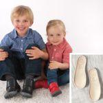 POLOLO MAXI - chaussures pour enfants en cuir écologique  du 24 au 34